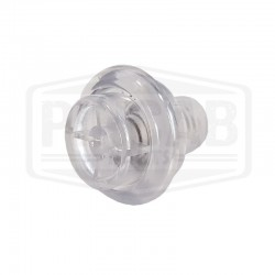 Bouton flipper transparent