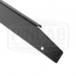 Side rail acier noir