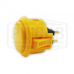 Bouton Sanwa OBSF 30mm jaune