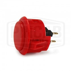 Bouton Sanwa OBSF 30mm rouge