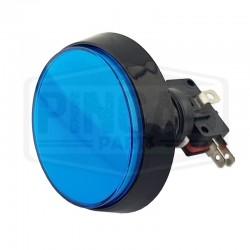 Bouton lumineux 60mm bleu