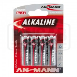 Piles AA 1.5 Volts (pack de 4)