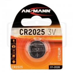 Pile CR2025 3 Volts Lithium