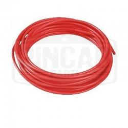 Fil souple 1mm² rouge (au m)