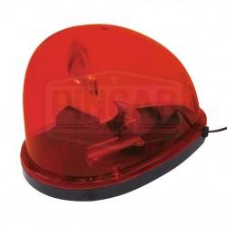 Gyrophare rouge goute d'eau