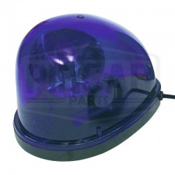 Gyrophare bleu goute d'eau