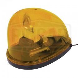 Gyrophare jaune goute d'eau