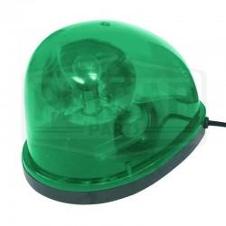 Gyrophare vert goute d'eau
