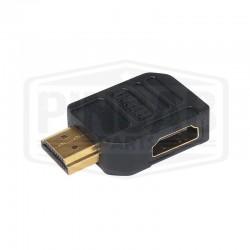 Adaptateur HDMI 2.0 coudé à...