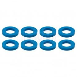 8 Rondelles turquoises de...