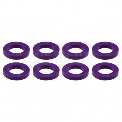 8 Rondelles violettes de...