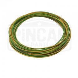Fil souple 1mm² vert & jaune