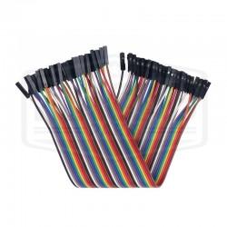 40 câbles Dupont femelle...