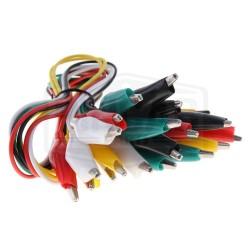 Kit de 10 câbles pince...