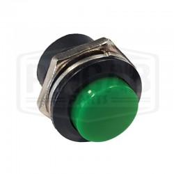 Bouton de service 16mm vert