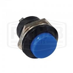 Bouton de service 16mm bleu